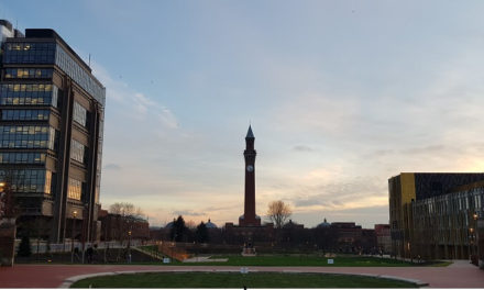 Public realm project at the heart of university